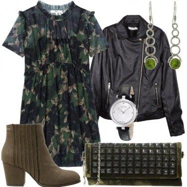 Outfit Fiori in rock