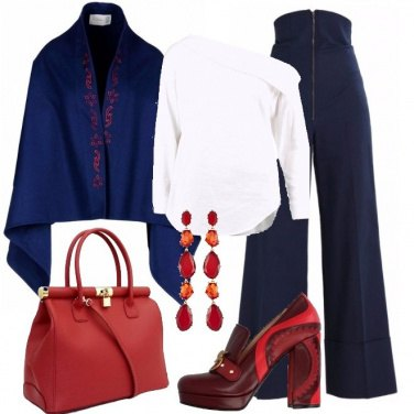 Outfit Ricami rossi