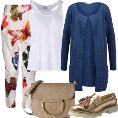 Outfit Volo di farfalle in eco-faschion