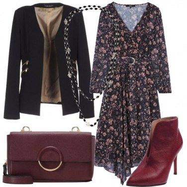 Outfit Un abito a fiori