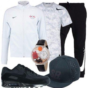 Outfit In orario allo stadio