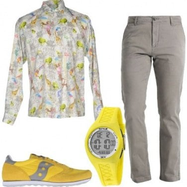 Outfit Serate colorate