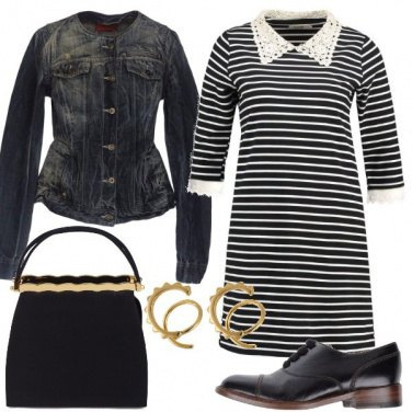Outfit Stile Bon ton