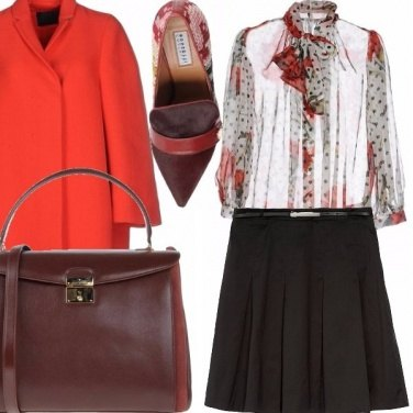 Outfit Red roses