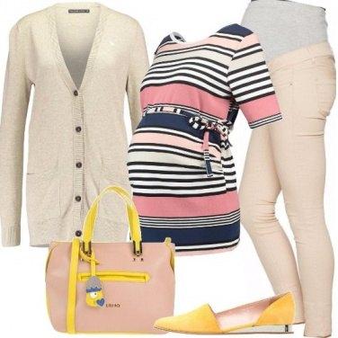 Outfit Comodamente in attesa