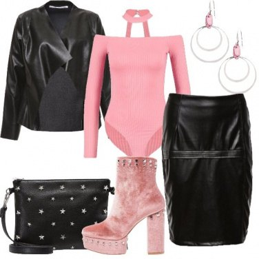 Outfit Rock in rosa