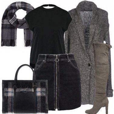 Outfit Punto sulla borsa