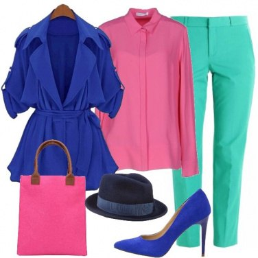 Outfit Shopping a colori