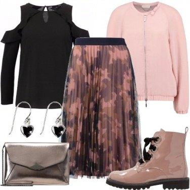 Outfit Pieghe mimetiche