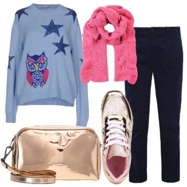 Outfit Lana e cotone