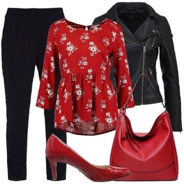 Outfit La borsa rossa