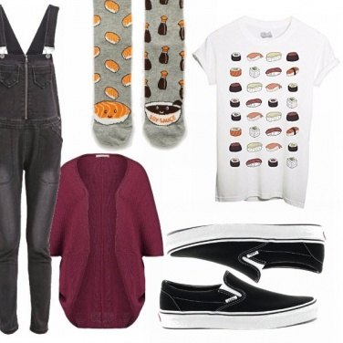 Outfit Sushi lover