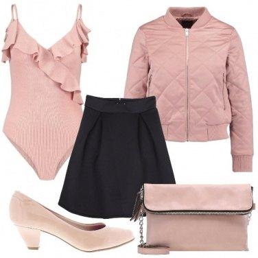 Outfit Potere al rosa