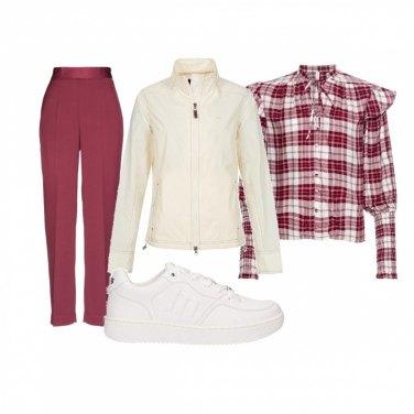 Scarpe Ginnastica Outfit Abbinare Bianco234 Come Il Da D2H9WIE