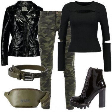 Outfit Camouflage rock