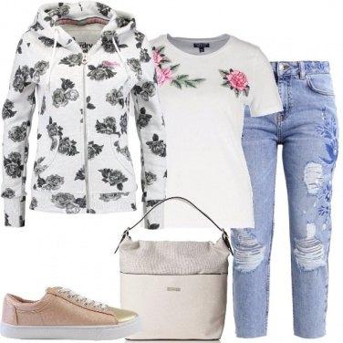 Outfit Rose e fiori