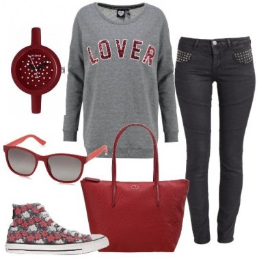 Outfit La sneakers alta