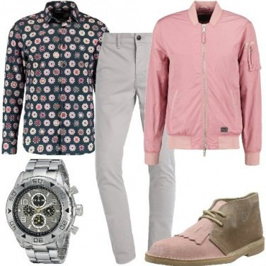 Outfit Rosa per lui