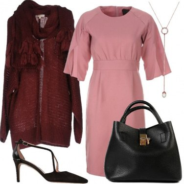Outfit Mood chic per il cardigan