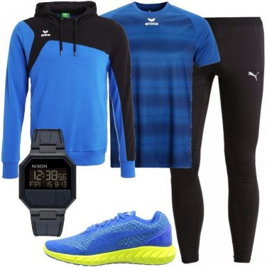 Outfit Sport con l\'orologio