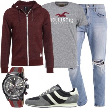 Outfit Orologio low cost