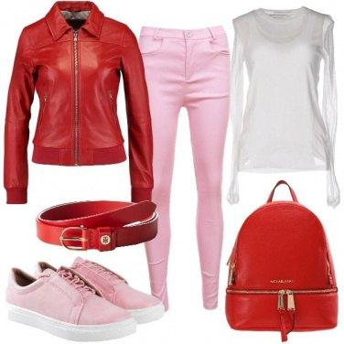 Outfit La pelle rossa