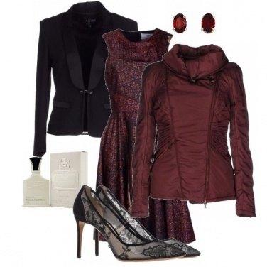 Outfit Trame e drappeggi