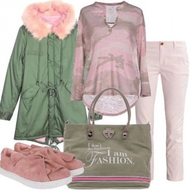 Outfit Ricomincio dal parka