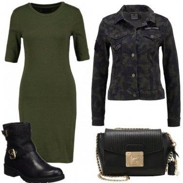 Outfit Tubino in stile militare