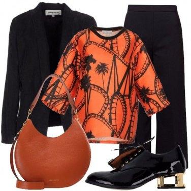 Outfit La stringata griffata