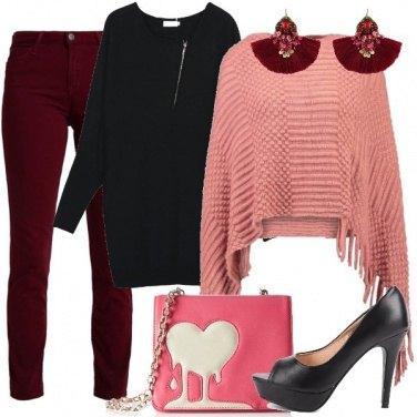 Outfit Il rosa che affascina