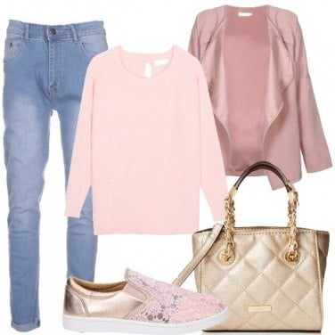 Outfit Rosa di giorno