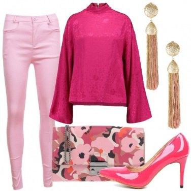Outfit Amo le sfumature rosa