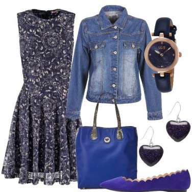 Outfit Blu e dintorni