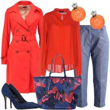 Outfit Trench di giorno