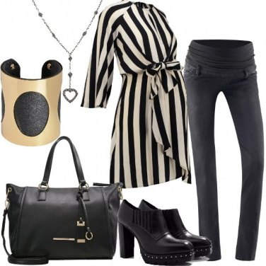 Outfit Bella con la pancia