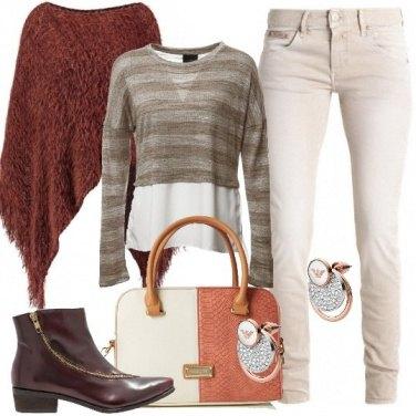Outfit Con la mantella