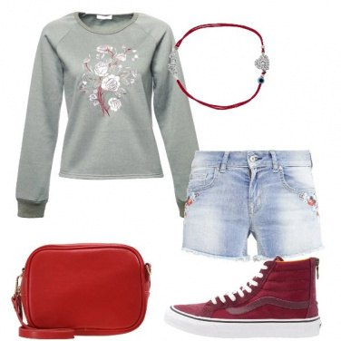 Outfit Shorts e calze