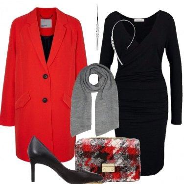 Outfit Perfetta con il tubino nero