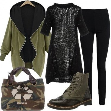 Outfit Tubino e leggings