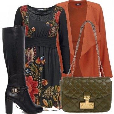 Outfit Orange&green_saldi