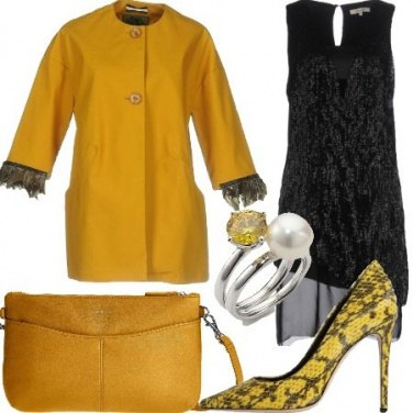 Outfit Chic in giallo
