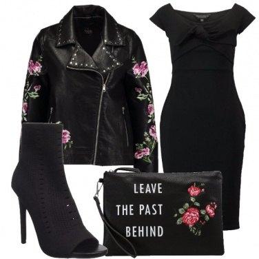 Outfit Tubino e fiori