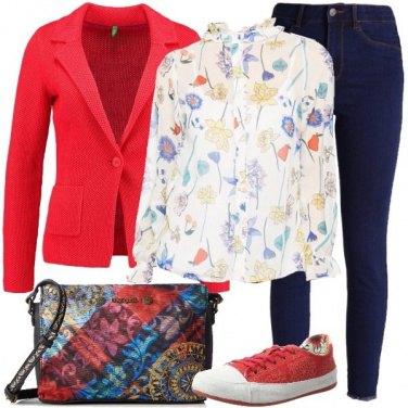 Outfit Fiori e frutta