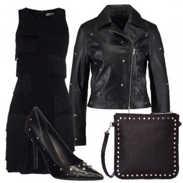 Outfit Il vestito con le frange