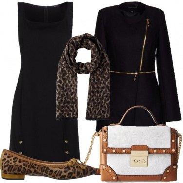 Outfit Il maculato con il nero