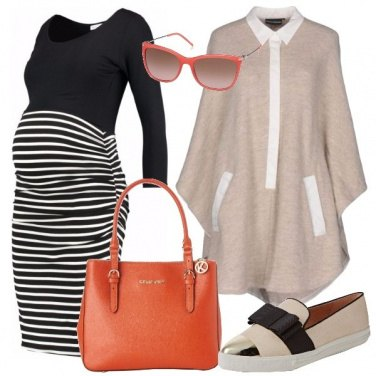 Outfit Tubino a righe