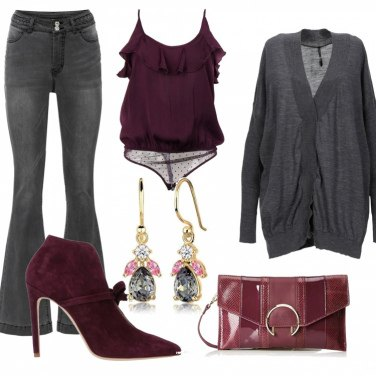 Come abbinare la maglioncino lana grigia: 53 Outfit Donna