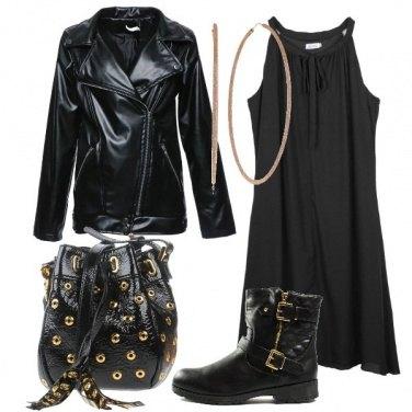 Outfit Oro sul nero