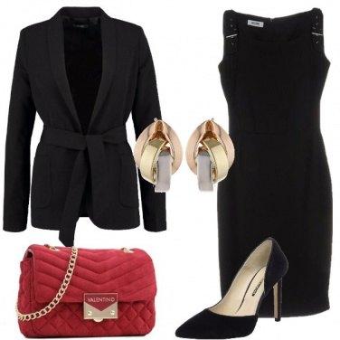 Outfit La borsa a tracolla rossa